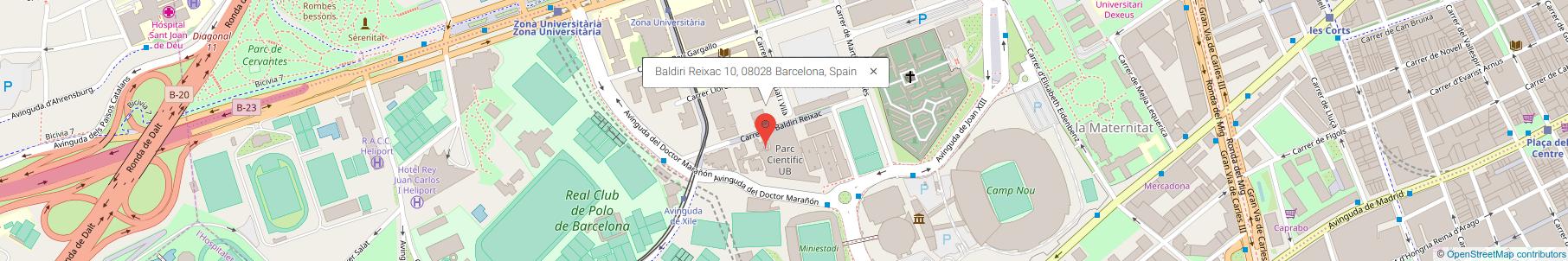Baldiri Reixac 10, 08020 Barcelona, Spain